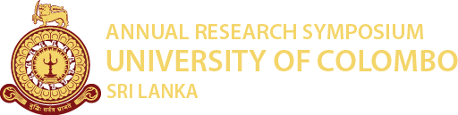 Annual Research Symposium 2019 | University of Colombo